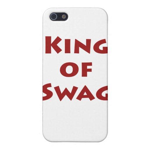 Rey del Swag iPhone 5 Protectores