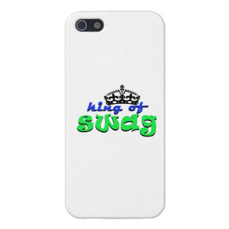 rey del swagg iPhone 5 carcasa