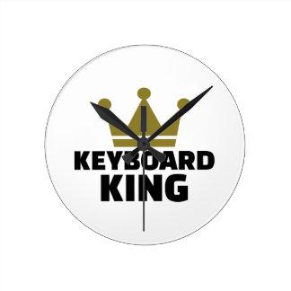 Rey del teclado reloj