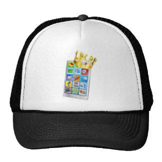 Rey del teléfono celular gorras de camionero