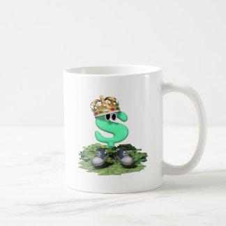 Rey del tenis taza de café