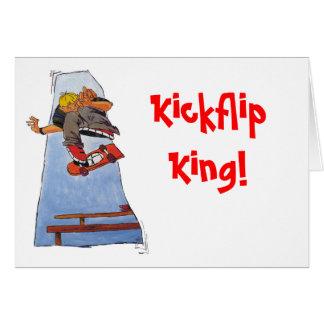 ¡Rey del tirón del retroceso! Tarjeta De Felicitación