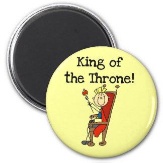 Rey del trono iman para frigorífico