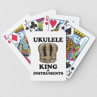 Rey del Ukulele de instrumentos Cartas De Juego