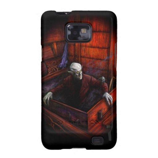 Rey del vampiro de Nosferatu Samsung Galaxy S2 Carcasas