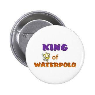 Rey del waterpolo pins