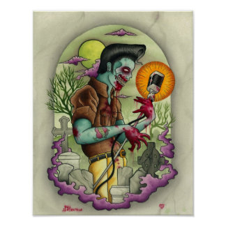 Rey del zombi de Joey Ortega Póster