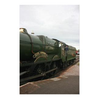 Rey Edward 1 que llega Washford, Somerset Impresiones Fotograficas