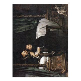 Rey Edward V y el duque de York en la torre de Postales