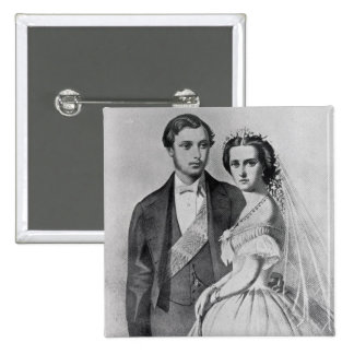 Rey Edward y reina Alexandra Pin