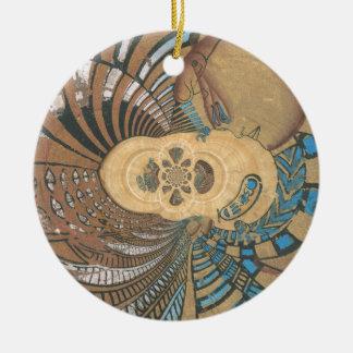 rey egipcio en pyprus.png ornamento para arbol de navidad
