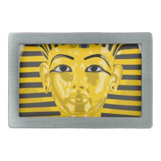 Rey egipcio Pharaoh Hebilla De Cinturón Rectangular