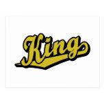 Rey en oro postal