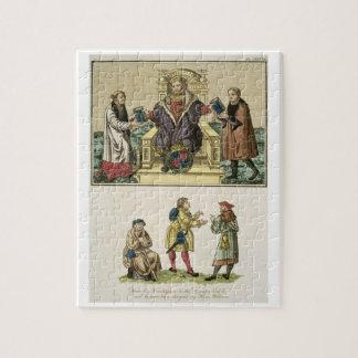 Rey Enrique VIII (1491-1547) del frontispiece Puzzles