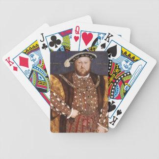 Rey Enrique VIII Baraja Cartas De Poker