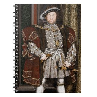 Rey Enrique VIII de Inglaterra Libreta