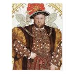 Rey Enrique VIII de Inglaterra - postal del retrat