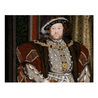 Rey Enrique VIII de Inglaterra Postales