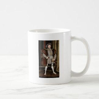 Rey Enrique VIII de Inglaterra Taza Clásica