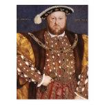 Rey Enrique VIII Postal