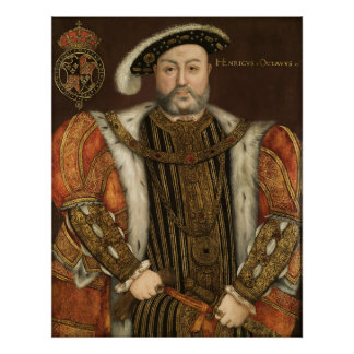 Rey Enrique VIII Póster
