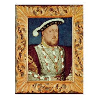 Rey Enrique VIII Tarjeta Postal