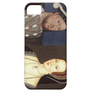 Rey Enrique VIII y Ana Bolena iPhone 5 Carcasas