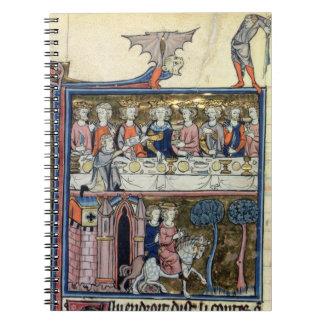 Rey f 326 Arturo y sus caballeros de ms Fr 95 alre Libreta
