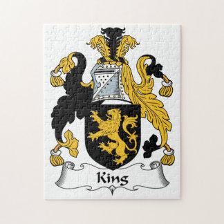 Rey Family Crest Puzzle