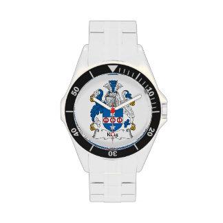 Rey Family Crest Reloj