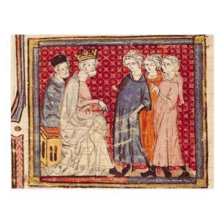 Rey Felipe I, Grandes Chroniques de Francia Postal