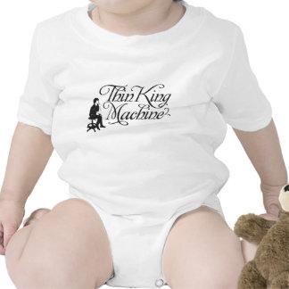 Rey fino Machine Infant Traje De Bebé