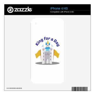 Rey For Day Calcomanías Para El iPhone 4S