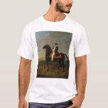 Rey Frederick Guillermo I a caballo Playera