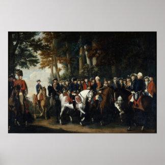 Rey Frederick la vuelta de II de Preussen von Poster
