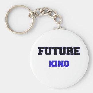 Rey futuro llavero redondo tipo pin