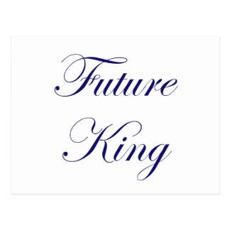 Rey futuro tarjetas postales