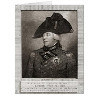 Rey George III 1810 Tarjeta De Felicitación Grande