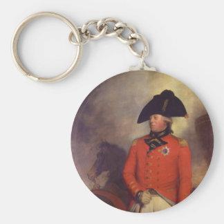 Rey George III de sir Guillermo Beechey Llavero Redondo Tipo Pin