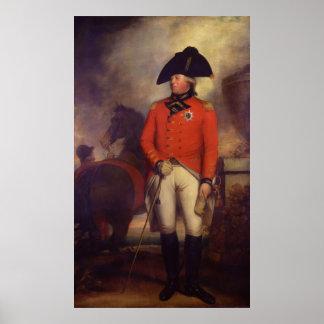 Rey George III en 1799 por sir Guillermo Beechey Poster