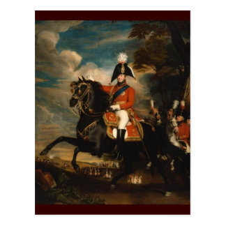 Rey George IV Tarjeta Postal