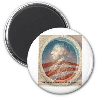 Rey George Obama III Imanes Para Frigoríficos