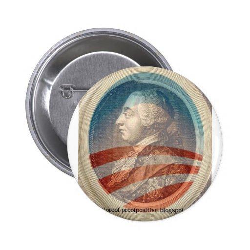 Rey George Obama III Pins