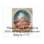 Rey George Obama III Postal