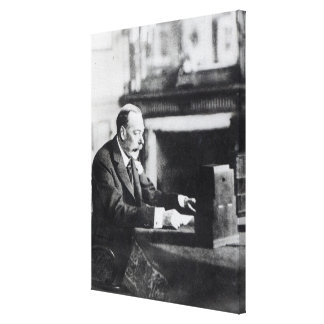 Rey George V Impresiones En Lona