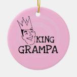Rey Grampa T-shirts y regalos Ornato