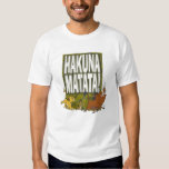 ¡Rey Hakuna Matata del león de Disney! Camisas