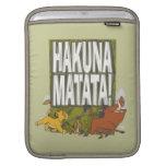 ¡Rey Hakuna Matata del león de Disney! Fundas Para iPads