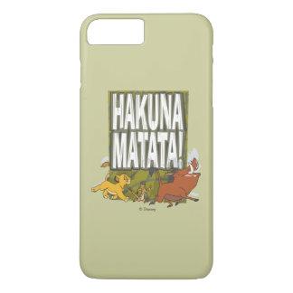 ¡Rey Hakuna Matata del león de Disney! Funda iPhone 7 Plus