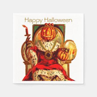 Rey Halloween Party del vintage JOL Servilleta De Papel